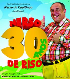 Cartaz - Nerso 30 anos de riso